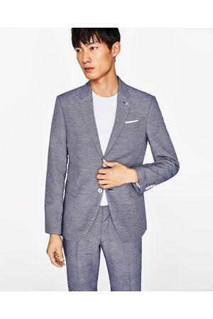 Blazer homme bleu zara - Idée de Costume et vêtement ffdbd58d93c