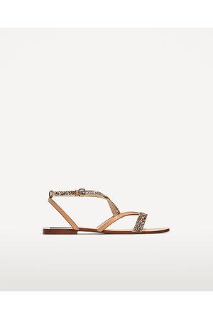 Comparez Zara Achetez Chaussures Sandales Femme Et Plates Basses Y6y7mIvfbg