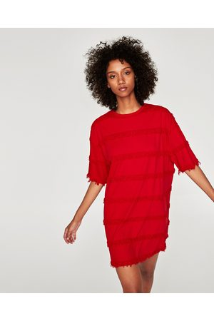 Zara ROBE XL À FRANGES - Disponible en d'autres coloris