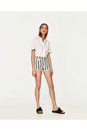 Courts Acheter En Femme Ligne Zara Pantalons clK15FuT3J