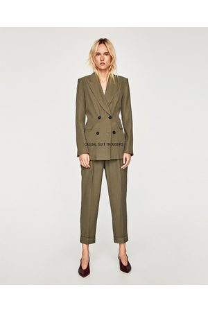 vente chaude en ligne 8352a 1477a Pantalons classiques femme disponible Zara - comparez et achetez