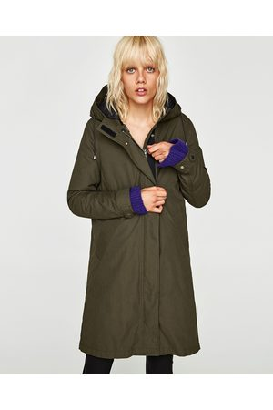 Zara PARKA TRANSFORMABLE DÉPERLANTE