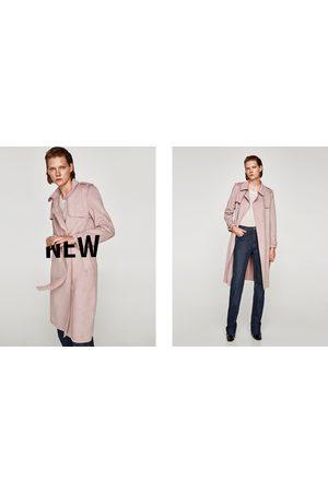 Zara GABARDINE EFFET DAIM - Disponible en d'autres coloris