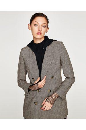 Vetement Zara Carreaux Femme Et Mode A Veste Fitness qWSHS61