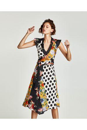 0644c564f5a Vêtements femme à fleurs Zara - comparez et achetez