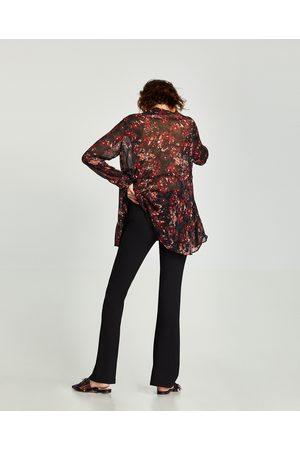 Zara PANTALON FLARE FLUIDE - Disponible en d'autres coloris