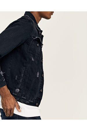 642ad3aee2d37 Veste jean noir homme zara – Modèles coûteux de vestes
