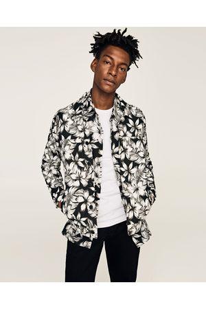 Homme Homme Zara Achetez Vêtements Comparez Et Fleurs Fleurs Veste AdxxBUqv