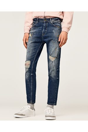 cropped jeans fusel carrot homme comparez et achetez. Black Bedroom Furniture Sets. Home Design Ideas