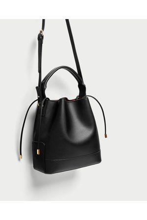 Zara SAC SEAU DE TAILLE MOYENNE - Disponible en d'autres coloris