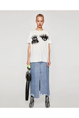 T-shirts femme t-shirt taille Zara - comparez