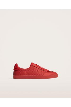 En Zara Chaussures Cuir Homme Perforées thdQrxsCB