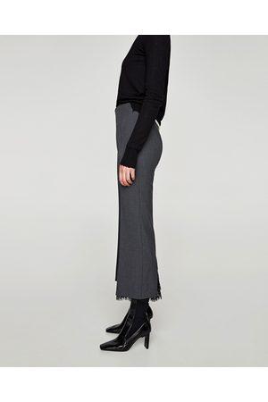 Zara PANTALON FLARE EN DENTELLE