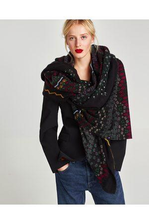 876bbac1e80 Acheter Écharpes   foulards femme Zara en Ligne