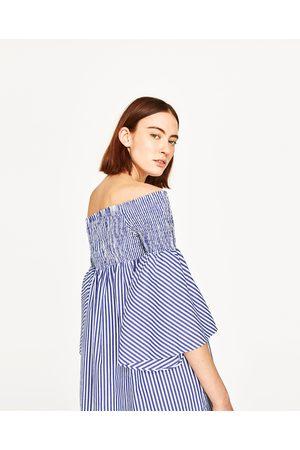 Et Denudees Femme Zara Robes Comparez Epaules Achetez 1cJTlFK3