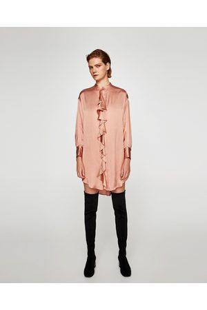 économiser jusqu'à 60% prix plancher qualité fiable robe chemise satin zara - Chemises - Mariage Caleche