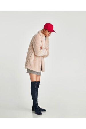 Bottes femme plates cuissardes Zara - comparez et achetez 61e0839845fc