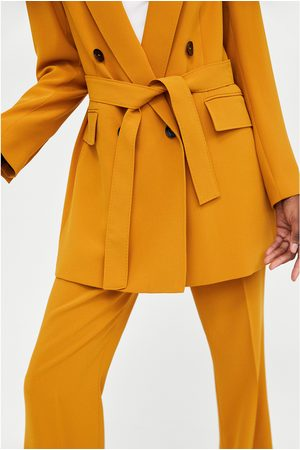 Zara Femme Pantalons bootcut - FLARED TROUSERS