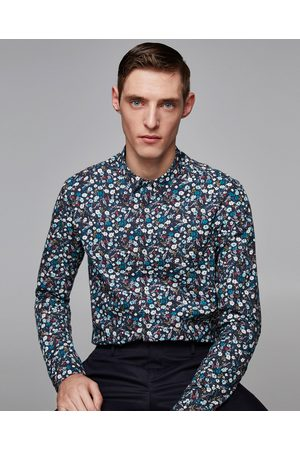 zara chemise a fleur homme