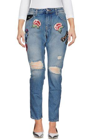 John Richmond Femme Pantalons coupe droite - DENIM - Pantalons en jean