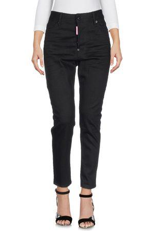 Dsquared2 Femme Pantalons coupe droite - DENIM - Pantalons en jean