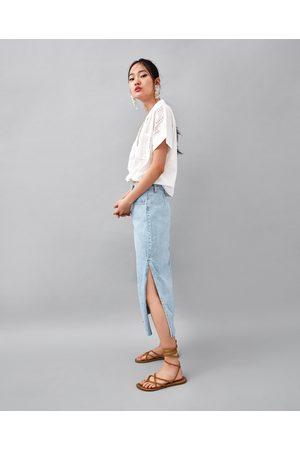 En Jupes Oukztpxi Zara Acheter Midi Femme Lignecomparer 2bHIYeW9DE