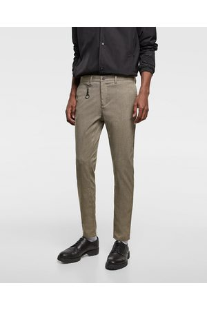 Zara PANTALON CHINÉ SLIM