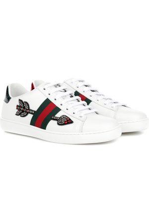 Gucci Baskets en cuir à ornements Ace