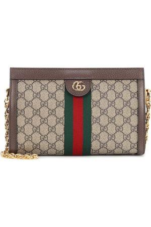 d0e8820f9341 Gucci Sac à bandoulière en toile et cuir Ophidia GG Small