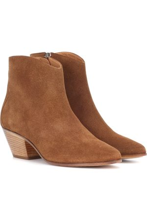 Bottines En Daim Dacken - NoirIsabel Marant