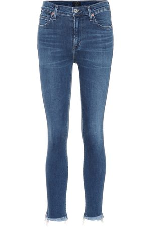 Citizens of Humanity Jean skinny à taille haute Rocket Crop