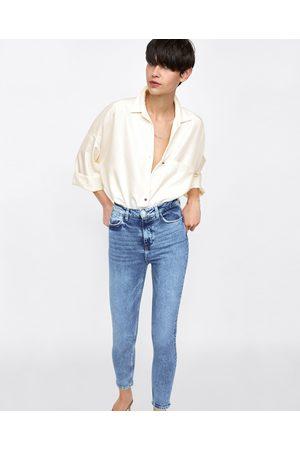 Zara Jeans - JEAN Z1975 À TAILLE HAUTE