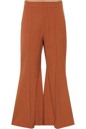 Chloé Pantalon évasé en laine vierge