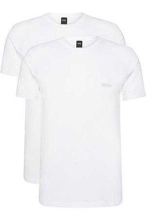 HUGO BOSS T-shirt Regular Fit en coton stretch en lot de deux
