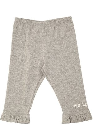 Fendi Garçon Joggings - COTTON JERSEY SWEATPANTS