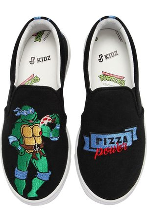 "JOSHUA SANDERS BASKETS SLIP-ON ""LEONARDO TORTUE NINJA"""