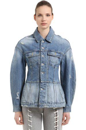 JONATHAN SIMKHAI Femme Vestes en jean - VESTE STYLE CORSET EN DENIM