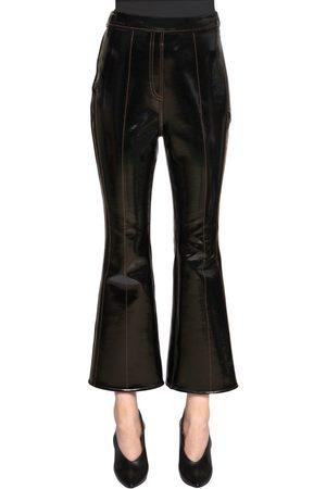 Ellery Femme Pantalons - PANTALON COURT EN NÉOPRÈNE ET VINYLE