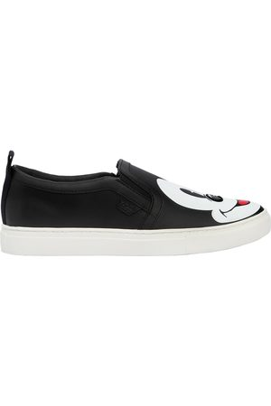 MOA MASTER OF ARTS BASKETS SLIP-ON EN CUIR IMPRIMÉ DISNEY