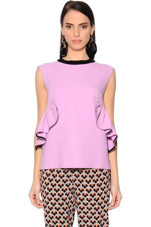 Femme Tops & T-shirts - Marni HAUT EN CRÊPE À VOLANTS