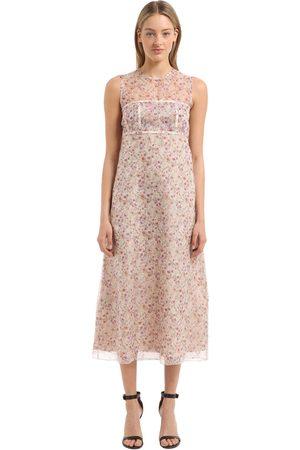 Femme Robes imprimées - Calvin Klein ROBE EN SOIE À FLEURS 59a29699f54