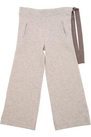 Unlabel Pantalon En Laine Avec Ceinture
