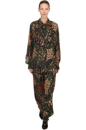 Vivienne Westwood Alcoholic Satin Jumpsuit