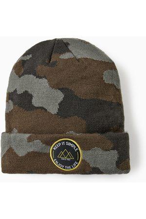 Zara CAMOUFLAGE HAT