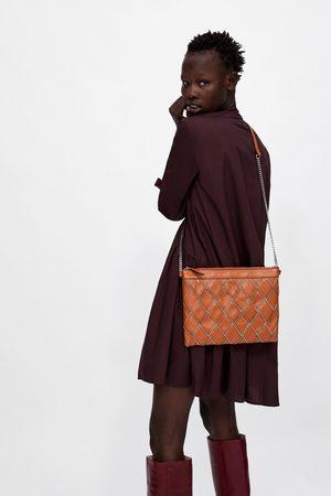 Zara SAC ENVELOPPE EN À ZIPS