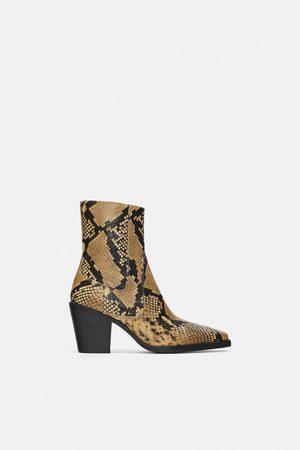 Bottes femme fait Zara - comparez et achetez 64958f5cd739