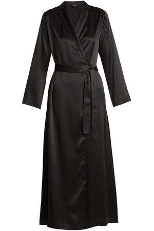 La Perla Femme Peignoirs - Robe de chambre en satin de soie