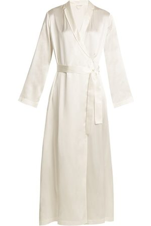 La Perla Peignoirs - Robe de chambre en satin de soie
