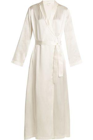 La Perla Robe de chambre en satin de soie