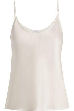 La Perla Maillots de corps - Caraco en satin de soie